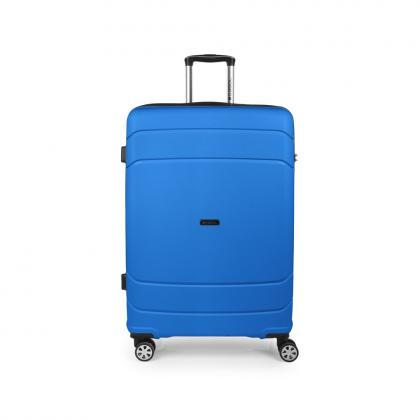 Gabol Shibuya 77 cm Kék Keményfedeles bőrönd