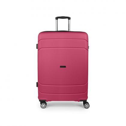 Gabol Shibuya 77 cm Rózsaszín Keményfedeles bőrönd