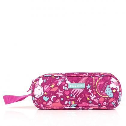 Gabol Toy Rózsaszín 2 Zip Tolltartó