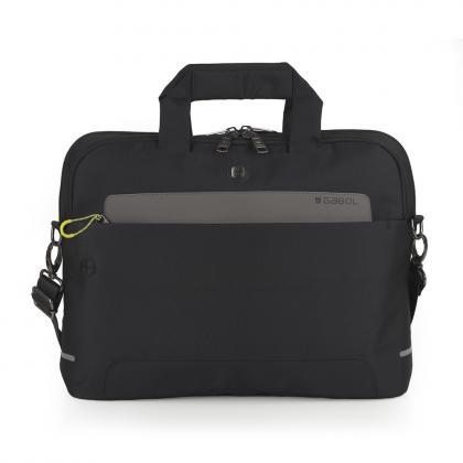 Gabol Trafic 15,6 Fekete Férfi Laptop táska