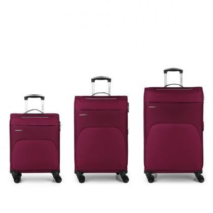 Gabol Zambia Bordó Bőrönd Szett