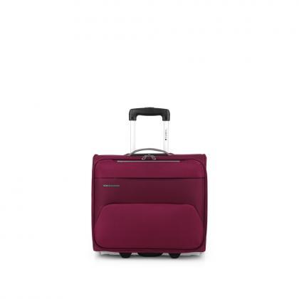 Gabol Zambia Bordó Laptopos Pilóta Bőrönd