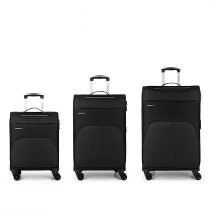 Gabol Zambia Fekete Bőrönd Szett