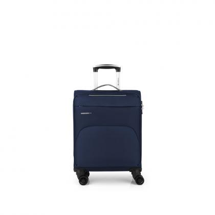Gabol Zambia Sötét kék Kabinbőrönd