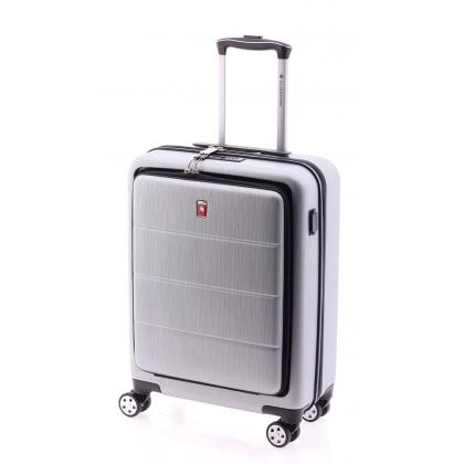 Gladiator Tech Ezüst Laptoptartós Kabinbőrönd