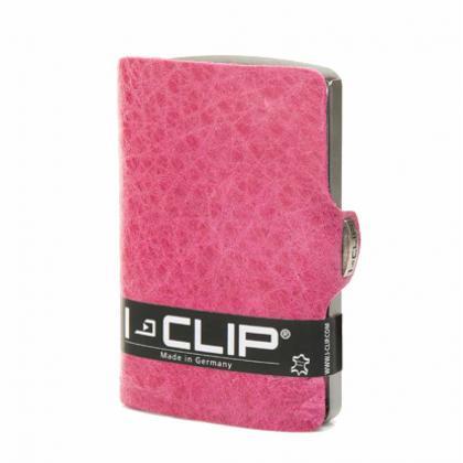 I-clip Vintage Rózsaszín Unisex Kártyatartó