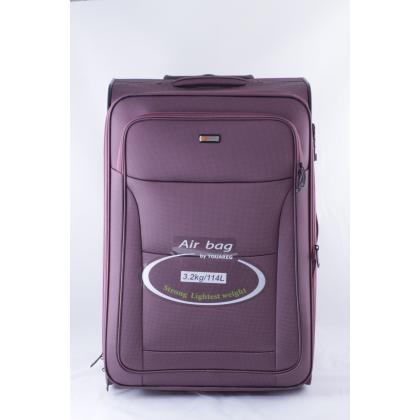 Touareg 6201 L Lila Unisex Puhafedeles bőrönd