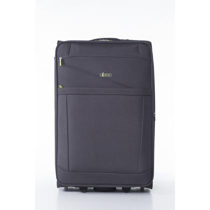John Travel Bemus 2 kerék 71 cm Szürke Unisex Bőrönd