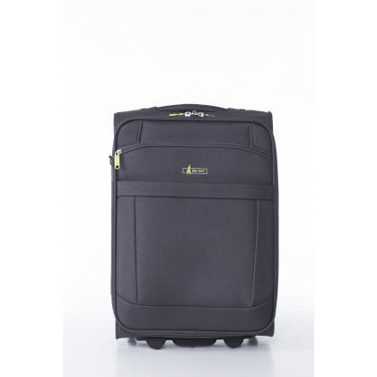 John Travel Bemus Szürke Férfi Kabinbőrönd