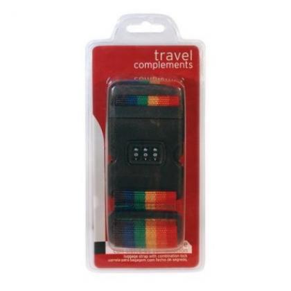 John Travel Számzáras bőröndpánt Multicolor Unisex Utazási kiegészítő