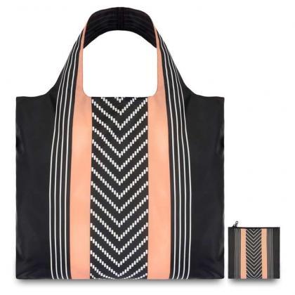 Loqi Echo Stripes Multicolor Unisex Bevásárlótáska