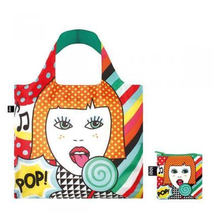 Loqi Pop Lollipop Multicolor Unisex Bevásárlótáska