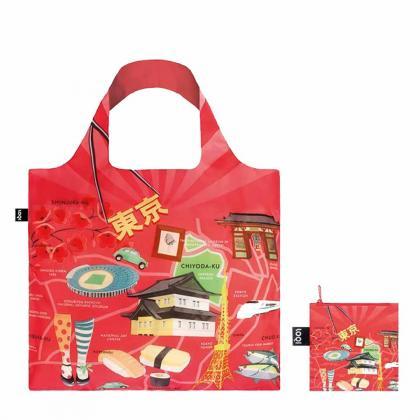 Loqi Tokyo Shopper Multicolor Unisex Bevásárlótáska