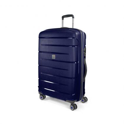MODO Roncato Starlight L Kék Keményfedeles bőrönd