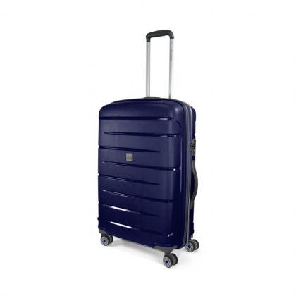 MODO Roncato Starlight M Kék Keményfedeles bőrönd