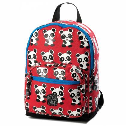 Pick&Pack Panda Piros Gyerek Hátizsák