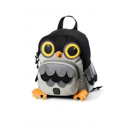 Pick&Pack OWL Fekete Gyerek Hátizsák