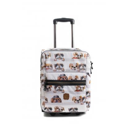 Pick&Pack Dogs  Fehér Gyerek Bőrönd