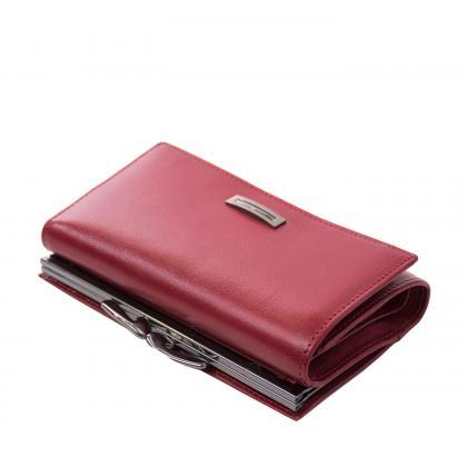 Prestige Pr55020 Csatos Piros Női Bőr Pénztárca