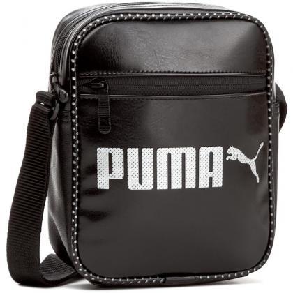 Puma Campus Portable Fekete Oldaltáska