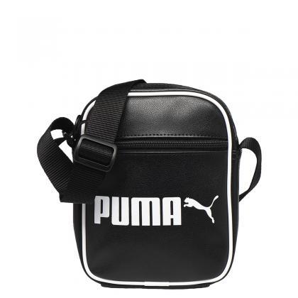 Puma Campus Portable Retro Fekete Oldaltáska