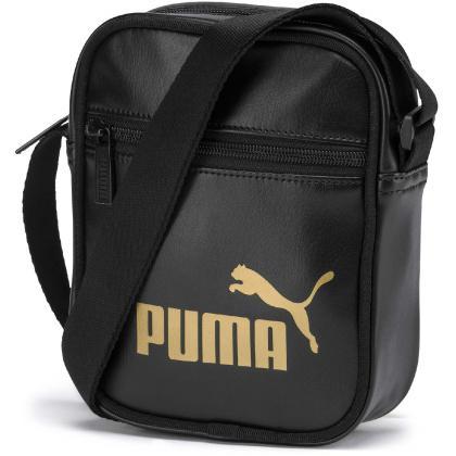 Puma Core Up Portable Fekete-Arany Női Oldaltáska