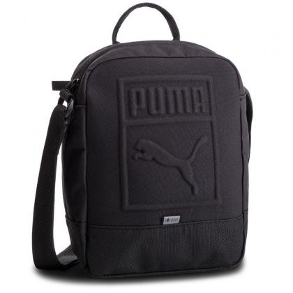Puma S Portable Fekete Férfi Oldaltáska