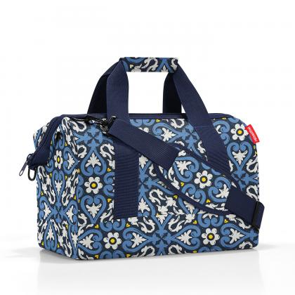 Reisenthel Allrounder M Floral 1 Kék Női Utazótáska