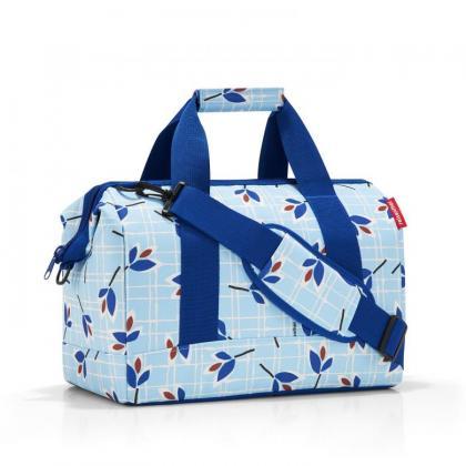 Reisenthel Allrounder M Leaves Blue Világos kék Női Utazótáska