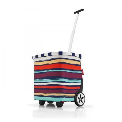 Reisenthel Carrycruiser Artist Stripes Kék Csíkos Bevásárlókocsi