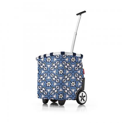 Reisenthel Carrycruiser Floral 1 Kék Bevásárlókocsi