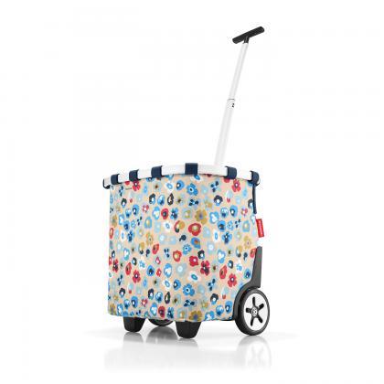 Reisenthel Carrycruiser Millefleurs Bézs Virágos Bevásárlókocsi