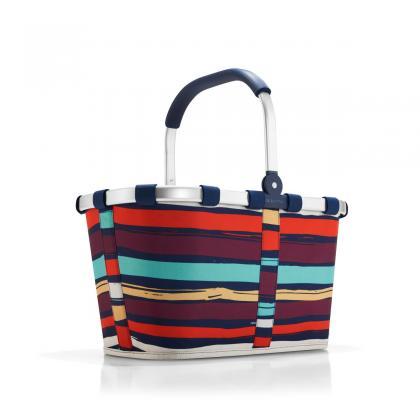 Reisenthel Carrybag Artist Stripes Sötét kék Női Bevásárlótáska