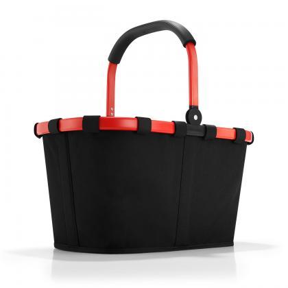 Reisenthel Carrybag Fekete-Piros Bevásárlókosár
