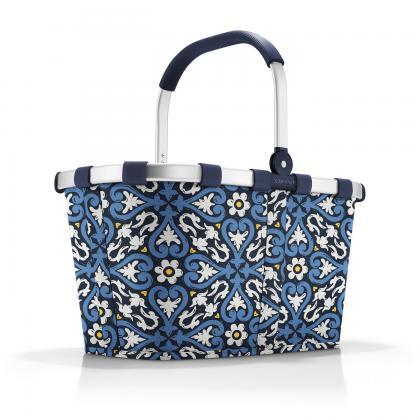 Reisenthel Carrybag Floral 1 Kék Bevásárlókosár