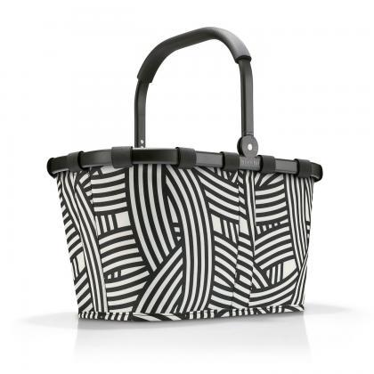 Reisenthel Carrybag Frame Zebra Csíkos Bevásárlókosár