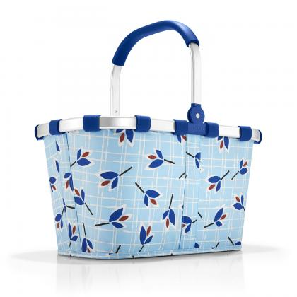 Reisenthel Carrybag Leaves Blue Világos kék Női Bevásárlókosár