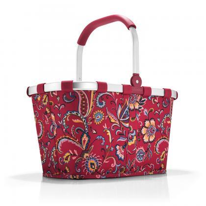 Reisenthel Carrybag Paisley Ruby Bordó Bevásárlókosár