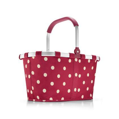 Reisenthel Carrybag Piros Pöttyös Unisex Bevásárlókosár