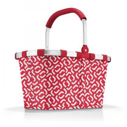 Reisenthel Carrybag Signature Red Piros-Fehér Bevásárlókosár