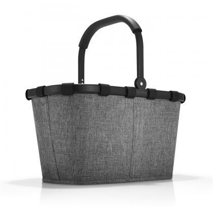 Reisenthel Carrybag Twist Silver Szürke Bevásárlókosár