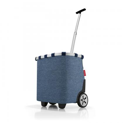 Reisenthel Carrycruiser Twist Blue Farmerkék Bevásárlókocsi
