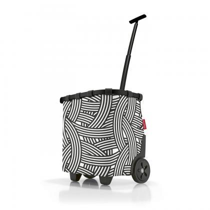 Reisenthel Carrycruiser Zebra Fekete - Fehér Bevásárlókocsi