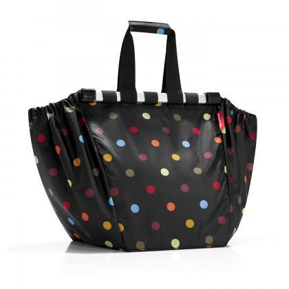 Reisenthel Easyshoppingbag pöttyös Fekete Női Bevásárlótáska