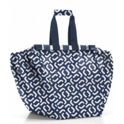Reisenthel Easyshoppingbag Signature Navy Kék Bevásárlótáska