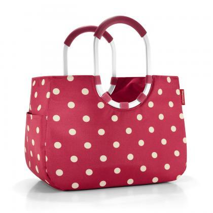 Reisenthel Loopshopper L piros oöttyös Piros Női Bevásárlótáska