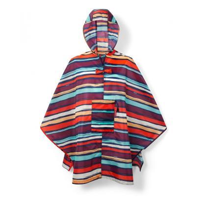 Reisenthel Mini Maxi Poncho Artist Stripes Sötétkék Esökabát
