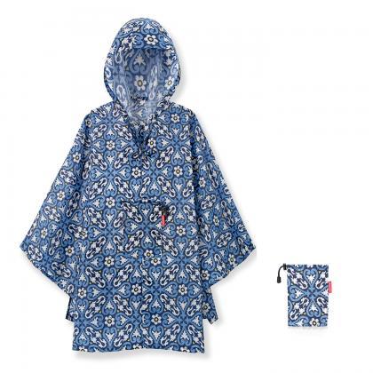 Reisenthel Mini Maxi Poncho Floral 1 Kék Esőkabát