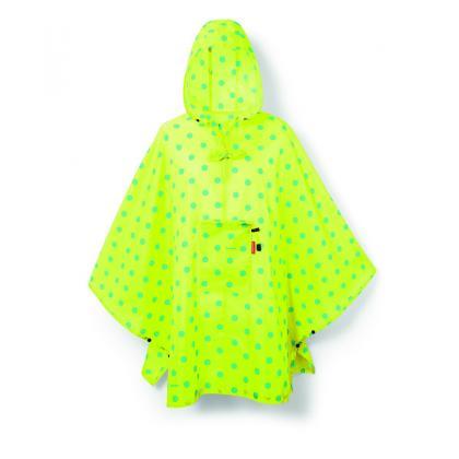 Reisenthel Mini Maxi Poncho Lemon Dots Sárga Esőkabát