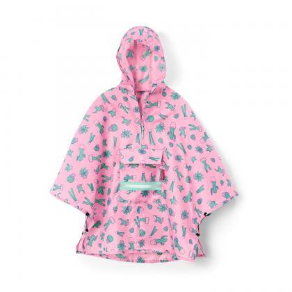 Reisenthel Mini maxi poncho M kids kaktusz Rózsaszín Gyerek Utazási kiegészítő